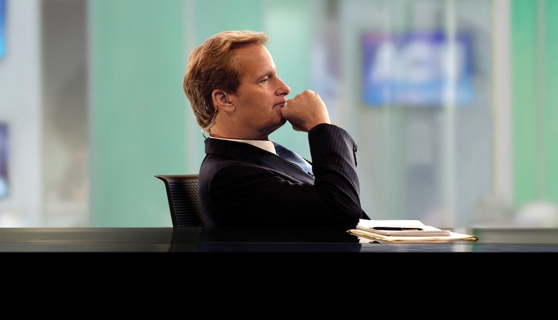 item 5, Gallery image. Jeff Daniels won an Emmy for his portrayal of Will McAvoy in the HBO series 'The Newsroom.'