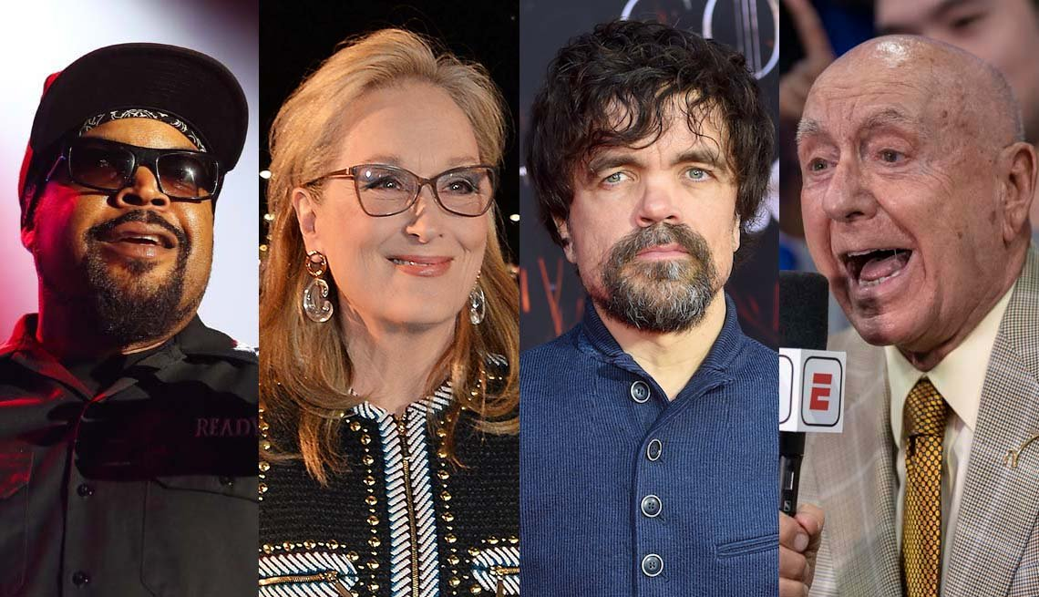 Ice Cube, Meryl Streep, Peter Dinklage and Dick Vitale