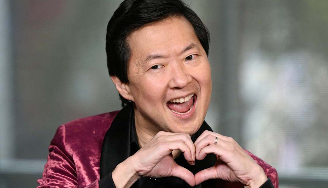 """item 4 of Gallery image - Ken Jeong visits """"Extra"""" at Universal Studios Hollywood on February 13, 2019 in Universal City, California."""