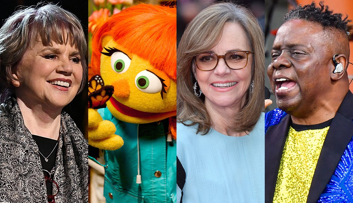 Linda Ronstadt, Sesame Street, Sally Fields and Earth, Wind & Fire will receive Kennedy Center Honors this year