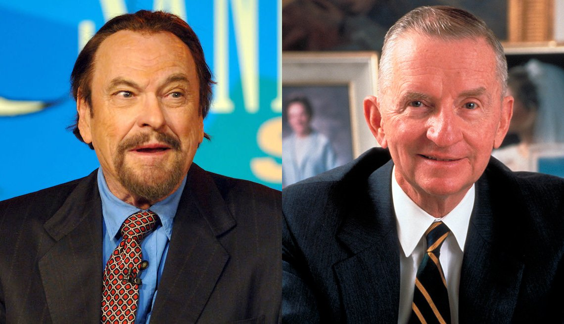 Rip Torn and Ross Perot