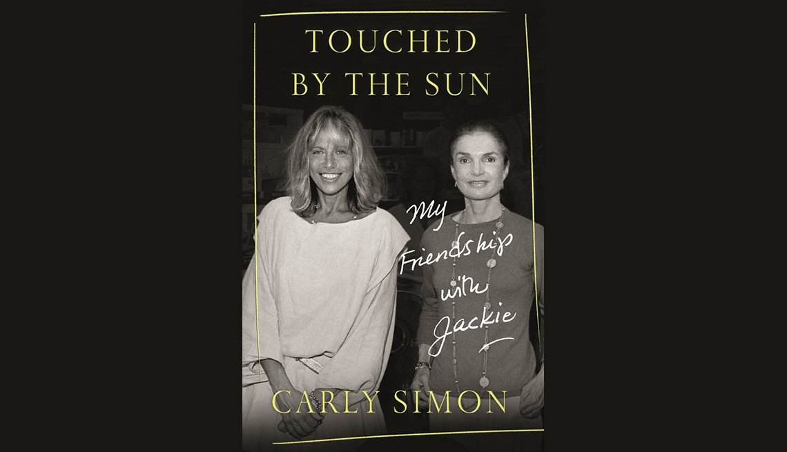 "item 1, Gallery image. The book cover for ""Touched by the Sun: My Friendship with Jackie,"" by Carly Simon."