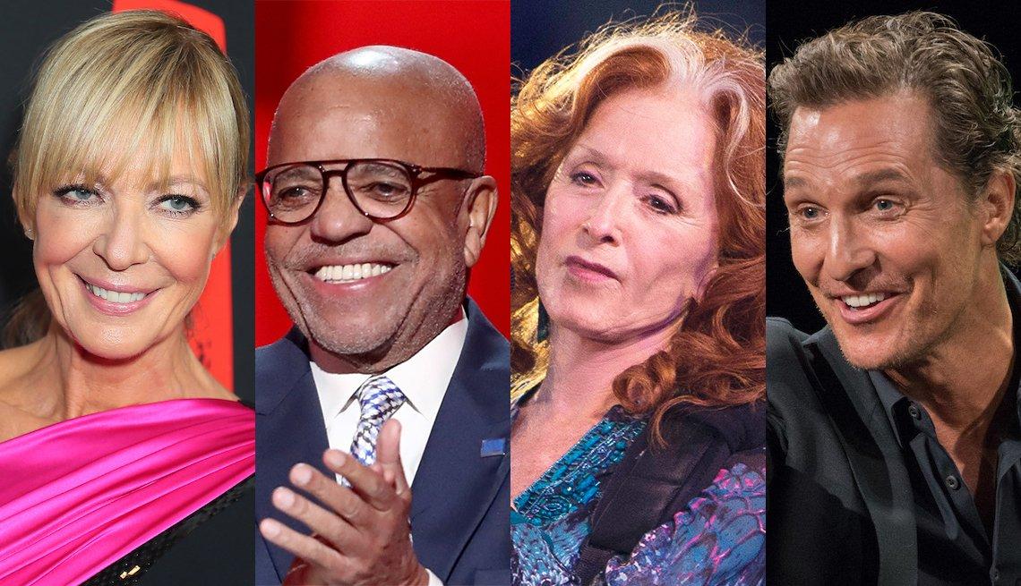 Allison Janney, Berry Gordy, Bonnie Raitt, Matthew McConaughey