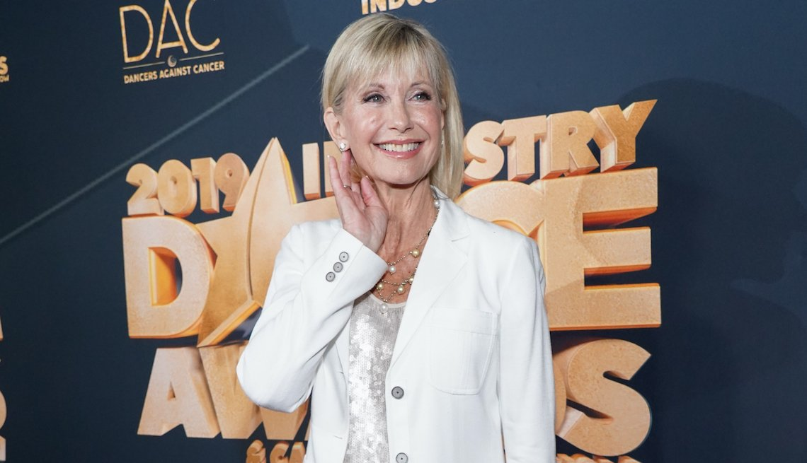 Olivia Newton-John attends the 2019 Industry Dance Awards at Avalon Hollywood on August 14, 2019 in Los Angeles, California.