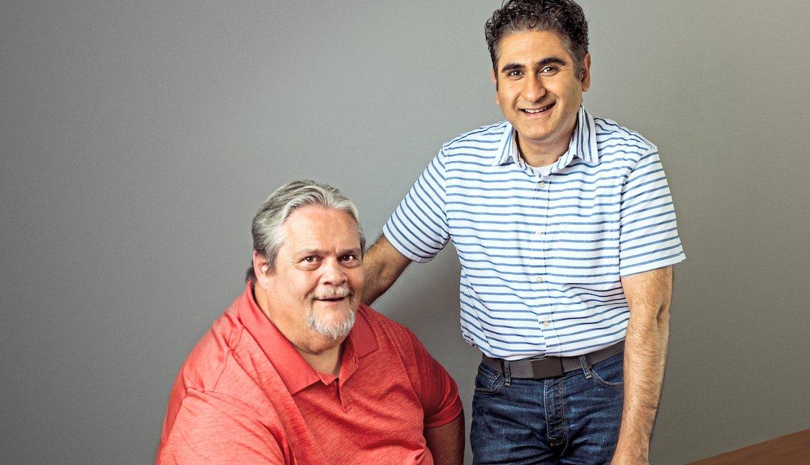 Greg Smith, 59, Waynesville, Ohio, and Kouhyar Mostashfi, 46, Springboro, Ohio