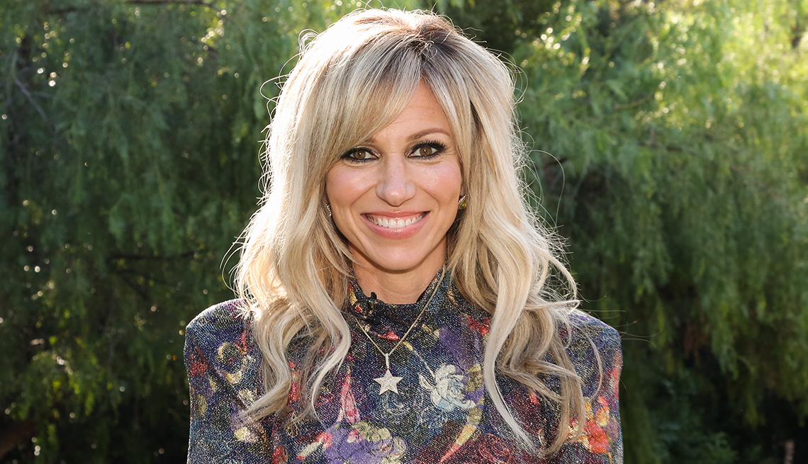 """item 7 of Gallery image - Actress / Singer Debbie Gibson visits Hallmark Channel's """"Home & Family"""" at Universal Studios Hollywood on December 09, 2019 in Universal City, California."""