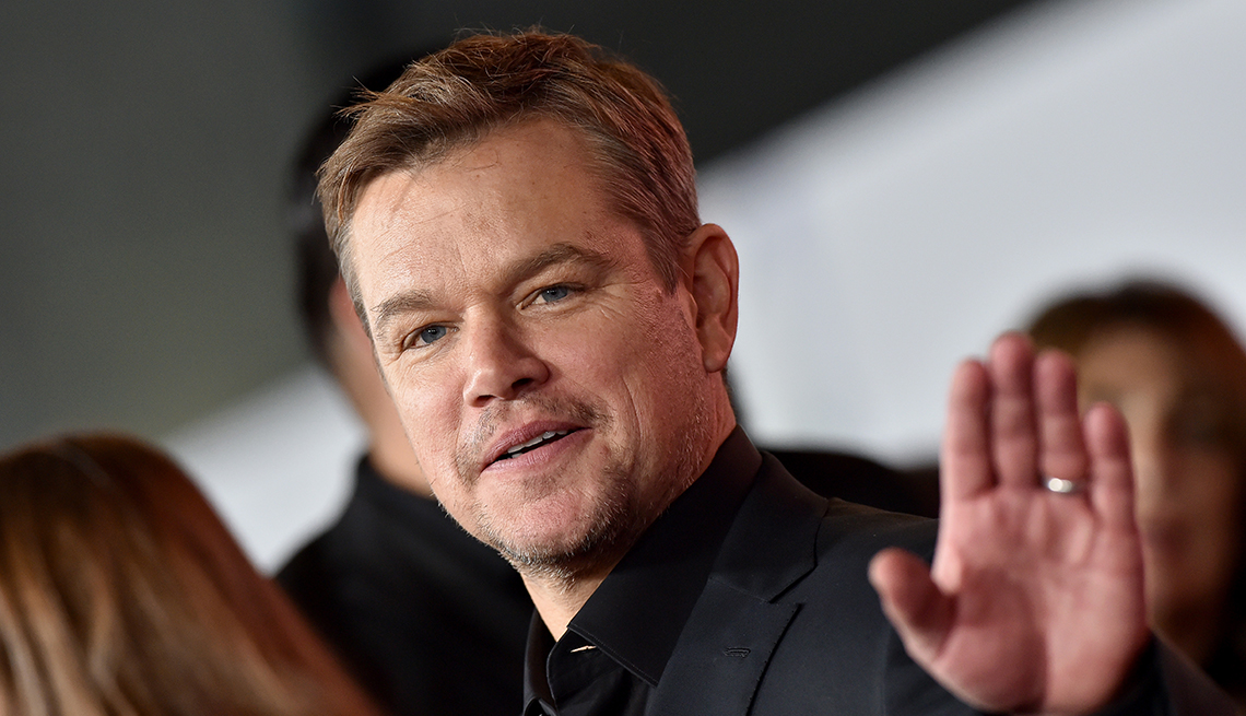 """item 9 of Gallery image - Matt Damon attends the Premiere of FOX's """"Ford v Ferrari"""" at TCL Chinese Theatre on November 04, 2019 in Hollywood, California."""