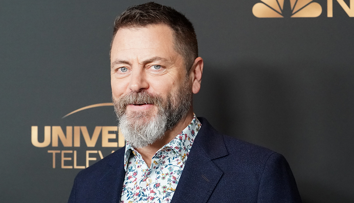 item 5 of Gallery image - Nick Offerman attends the NBC and Universal EMMY nominee celebration at Tesse Restaurant on August 13, 2019 in West Hollywood, California.