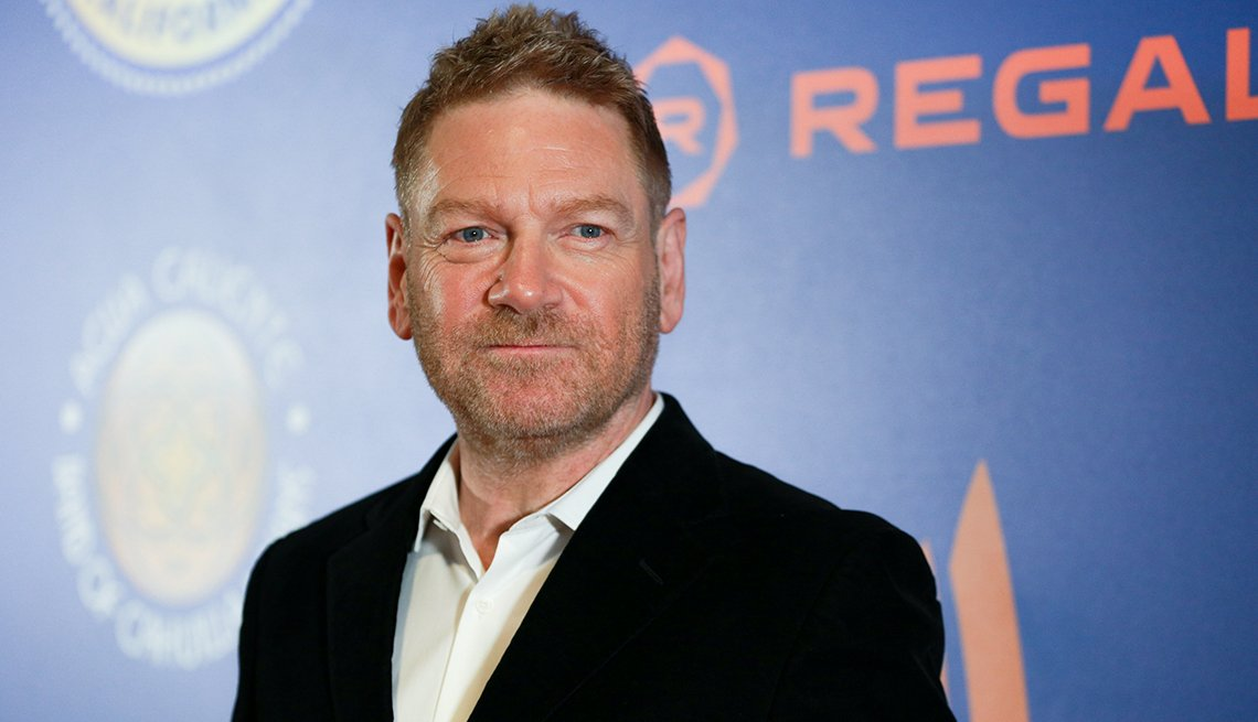 "item 11, Gallery image. Kenneth Branagh attends the Opening Night Screening of ""All is True"" at the 30th Annual Palm Springs International Film Festival  on January 04, 2019 in Palm Springs, California."