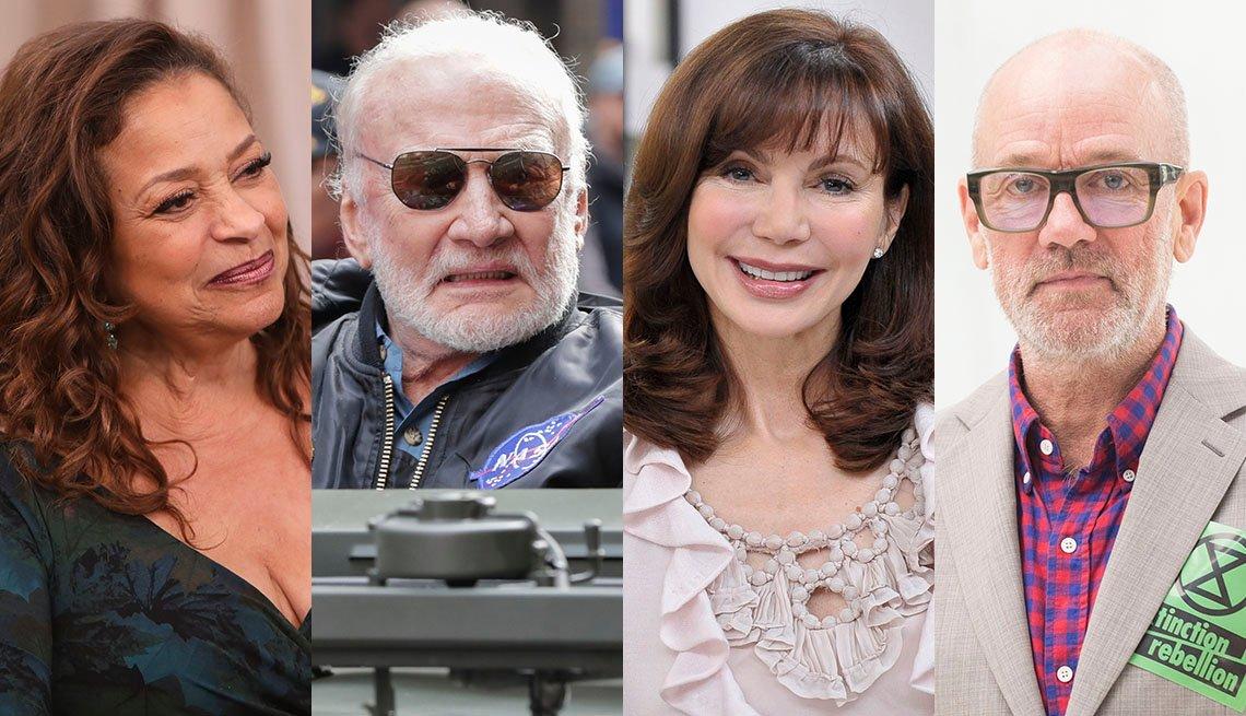 Debbie Allen, Buzz Aldrin, Victoria Principal, Michael Stipe