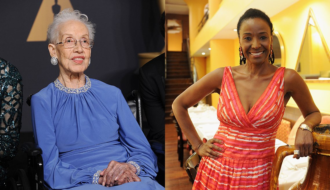 Physicist Katherine Johnson and restaurateur B Smith