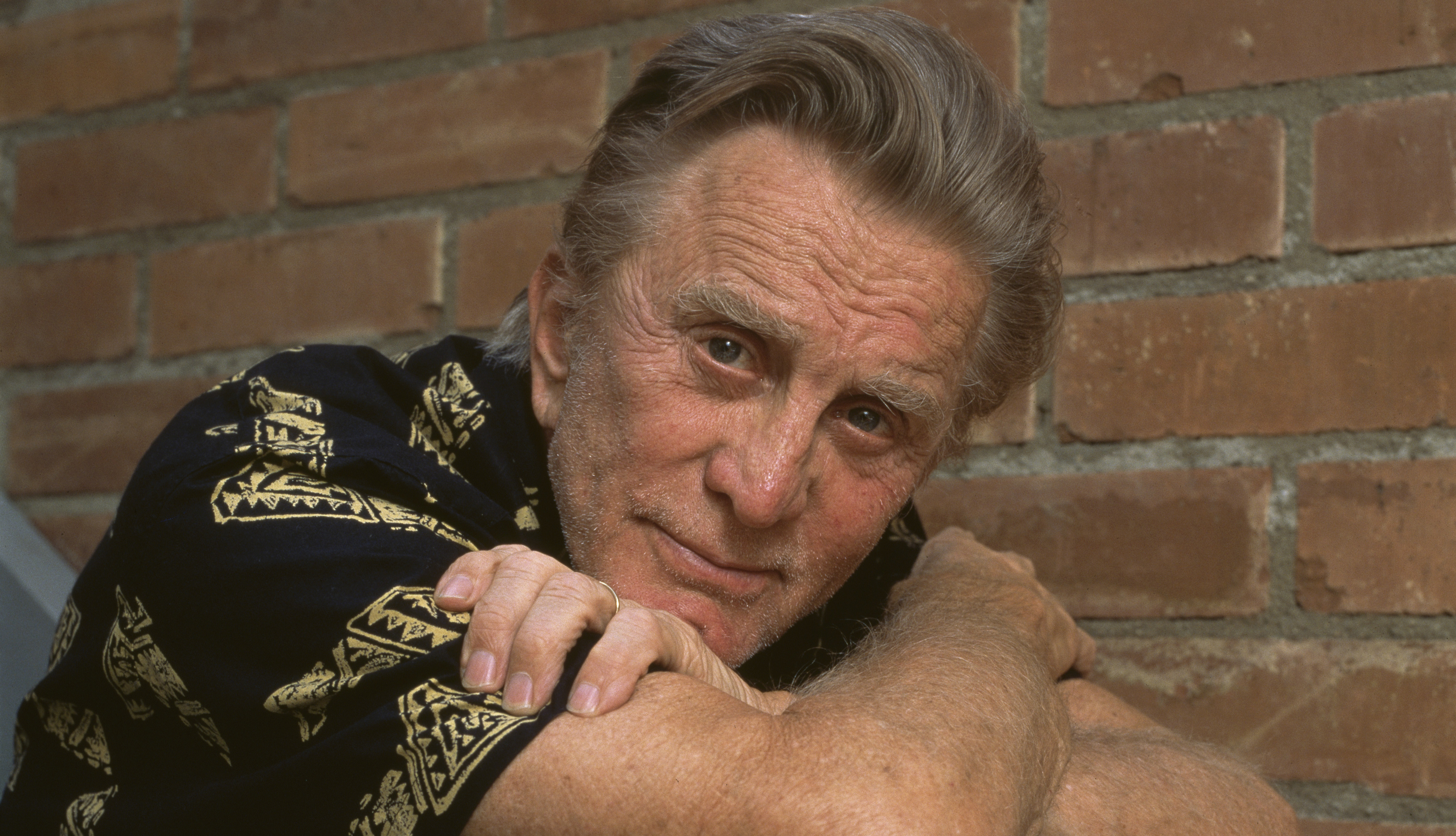 item 62 of Gallery image - American actor Kirk Douglas, circa 1990