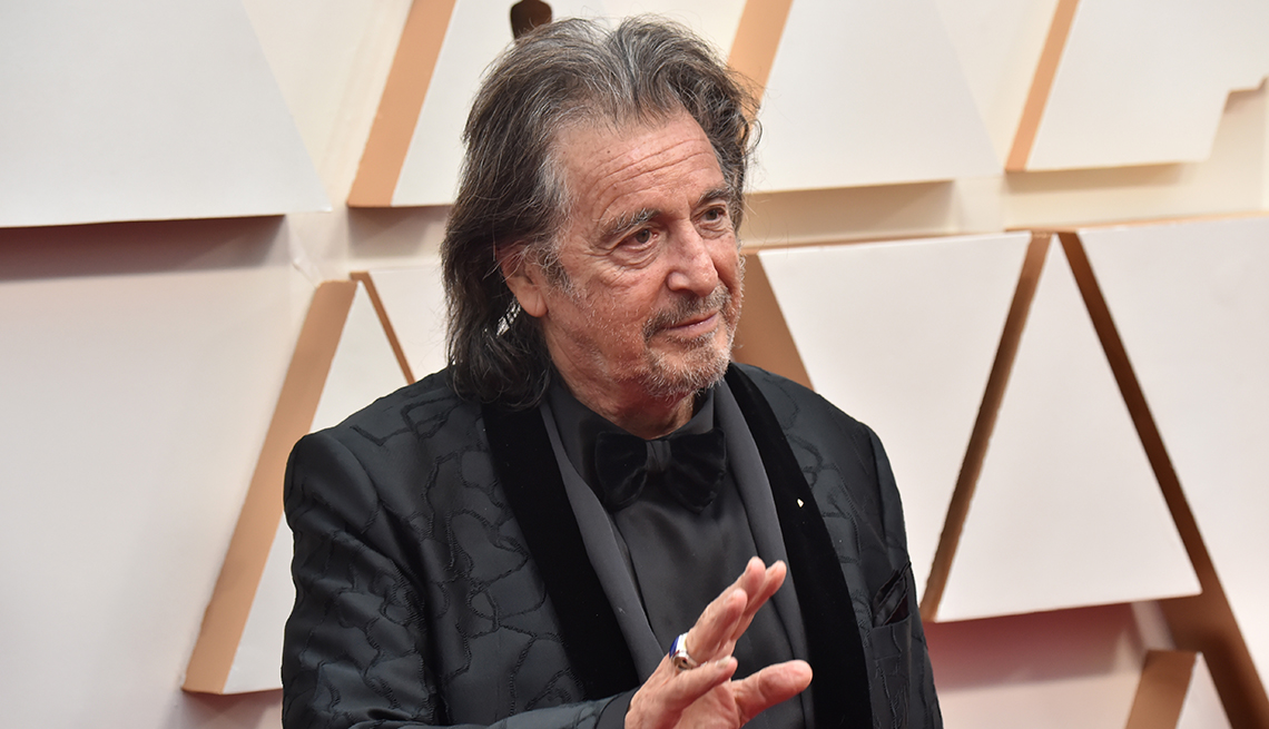 item 5 of Gallery image - Al Pacino waves on the red carpet at the 92nd Annual Academy Awards