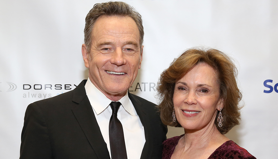 item 7 of Gallery image - actor bryan cranston and his spouse robin dearden