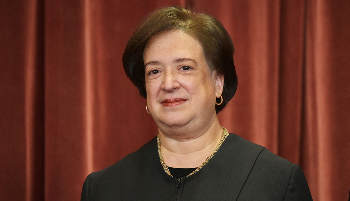 item 7 of Gallery image - Associate Justice Elena Kagan poses in the official group photo at the U S Supreme Court in Washington DC on November 30 2018