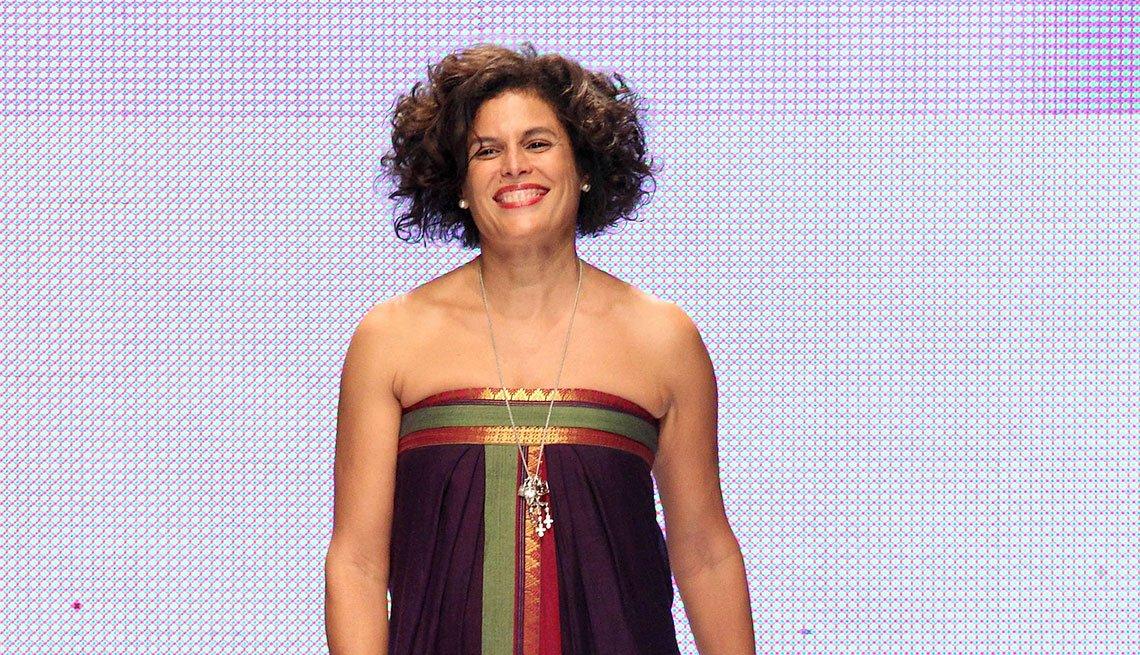 Diseñadora de modas dominicana Jenny Polanco.