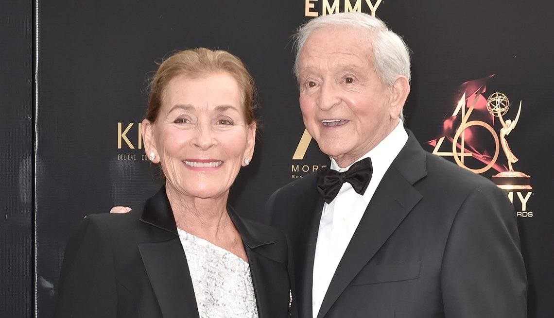 item 8 of Gallery image - Judge Judy and Jerry Sheindlin attend the 46th annual Daytime Emmy Awards
