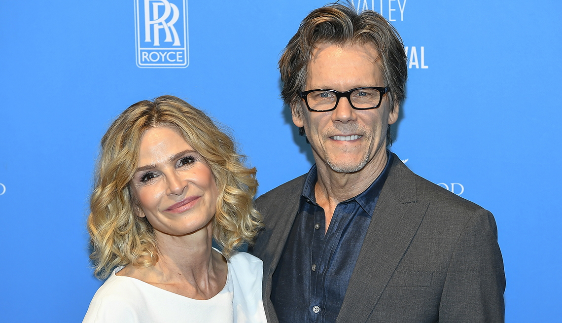 item 2 of Gallery image - actors and married couple kyra sedgwick and kevin bacon