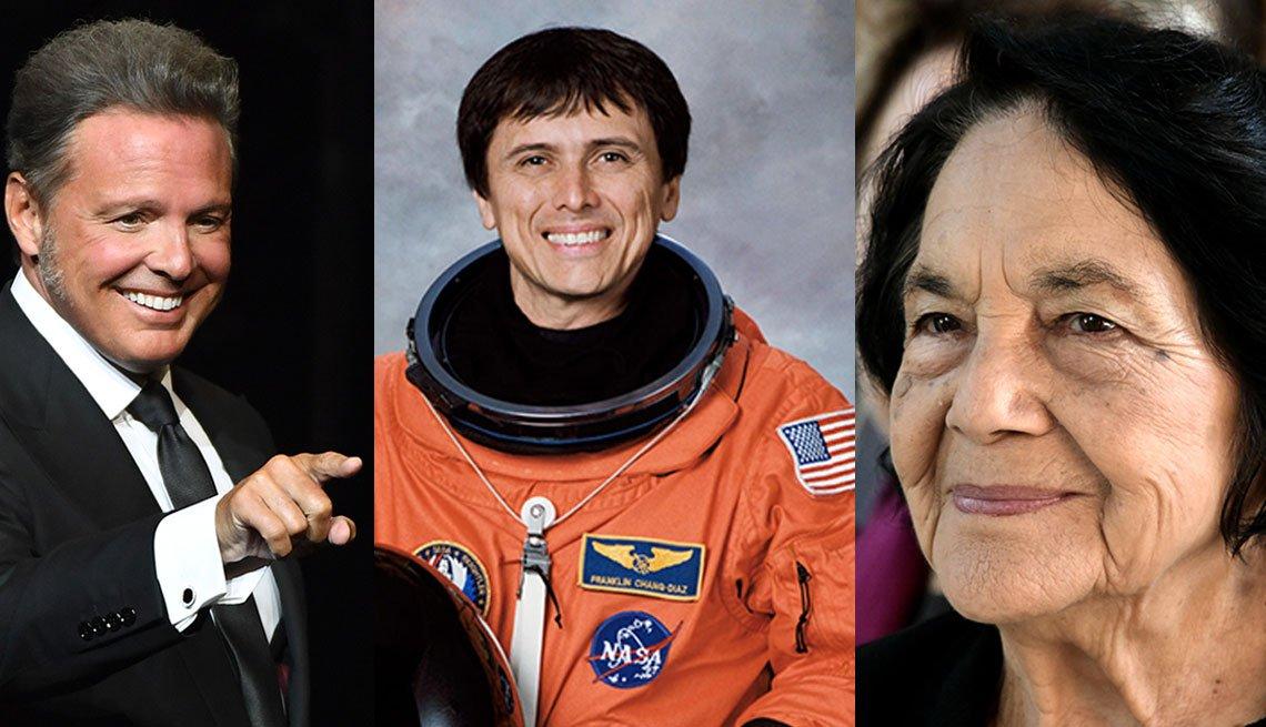 Luis Miguel, Franklin Chang-Díaz, Dolores Huerta