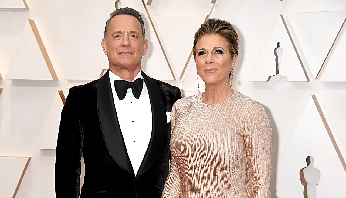 Tom Hanks and Rita Wilson attend the 92nd Annual Academy Awards