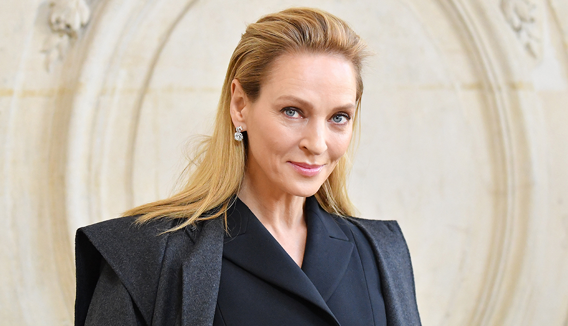 item 10 of Gallery image - Uma Thurman attends the Dior Haute Couture Spring Summer 2020 show as part of Paris Fashion Week on January 20 2020 in Paris France