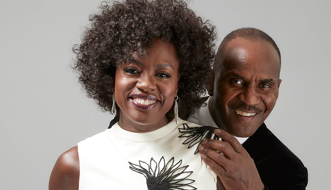 item 3 of Gallery image - actor viola davis and her husband julius tennon