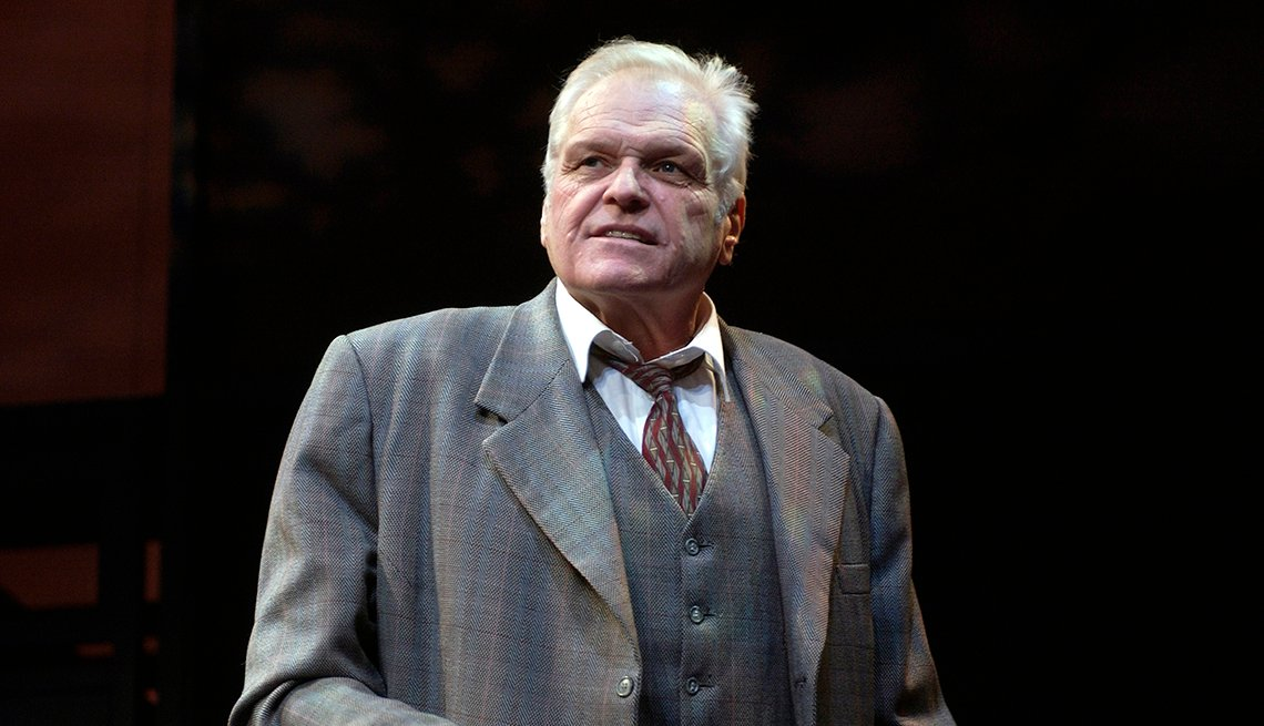 item 46 of Gallery image - Brian Dennehy as Willy Loman in the production Death of a Salesman