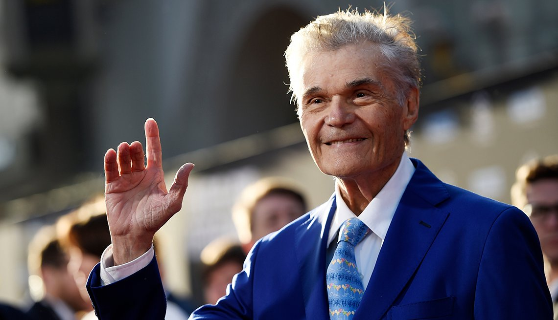 item 41 of Gallery image - Actor Fred Willard at the 50th anniversary screening of the film In the Heat of the Night