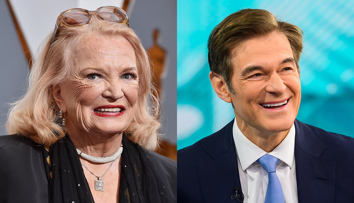 Actress Gena Rowlands and Dr. Mehmet Oz