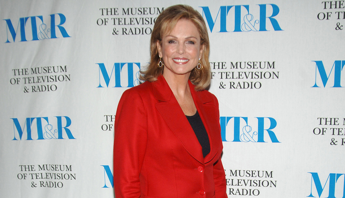item 42 of Gallery image - Phyllis George during The Museum of Television and Radio kicks off She Made It Women Creating Television and Radio event in New York City