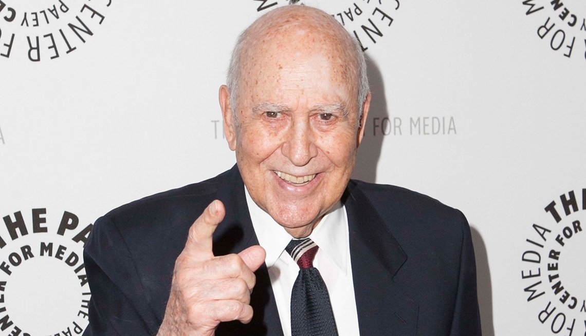 Carl Reiner at the American Masters Mel Brooks Make a Noise event