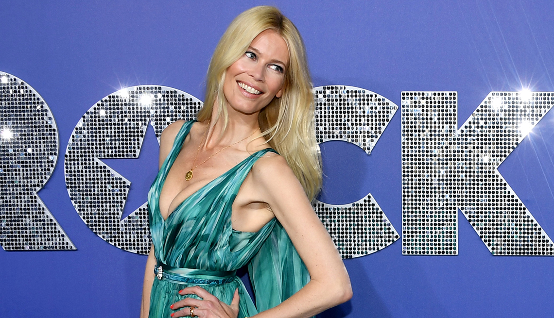 item 8 of Gallery image - Claudia Schiffer attends the Rocketman New York Premiere
