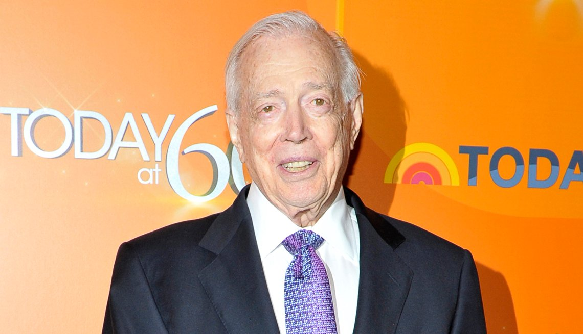 Television broadcaster Hugh Downs