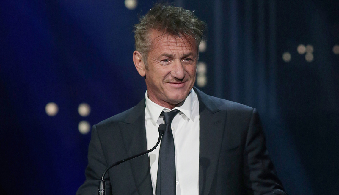 item 6 of Gallery image - Actor Sean Penn speaks at the Austin City Limits 2019 Hall of Fame Induction Ceremony