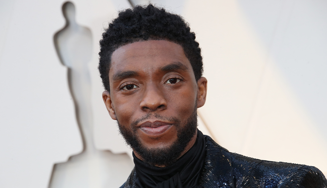 item 25 of Gallery image - Chadwick Boseman at the 91st Annual Academy Awards