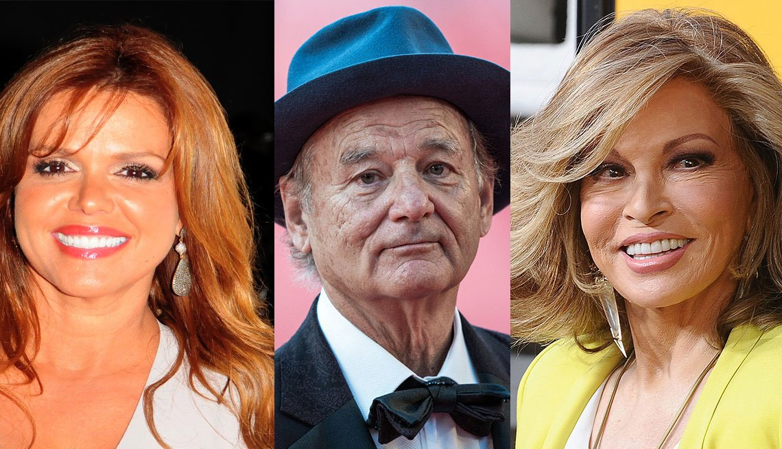 Maria Celeste Arrarás, Bill Murray, Raquel Welch
