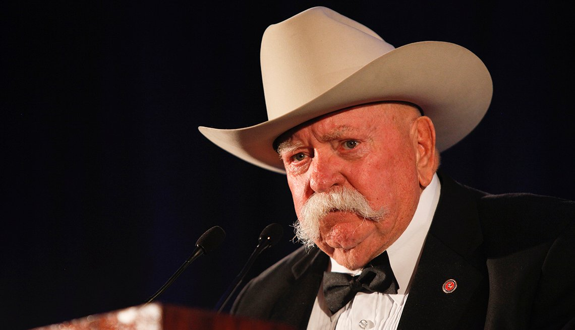 Actor Wilford Brimley