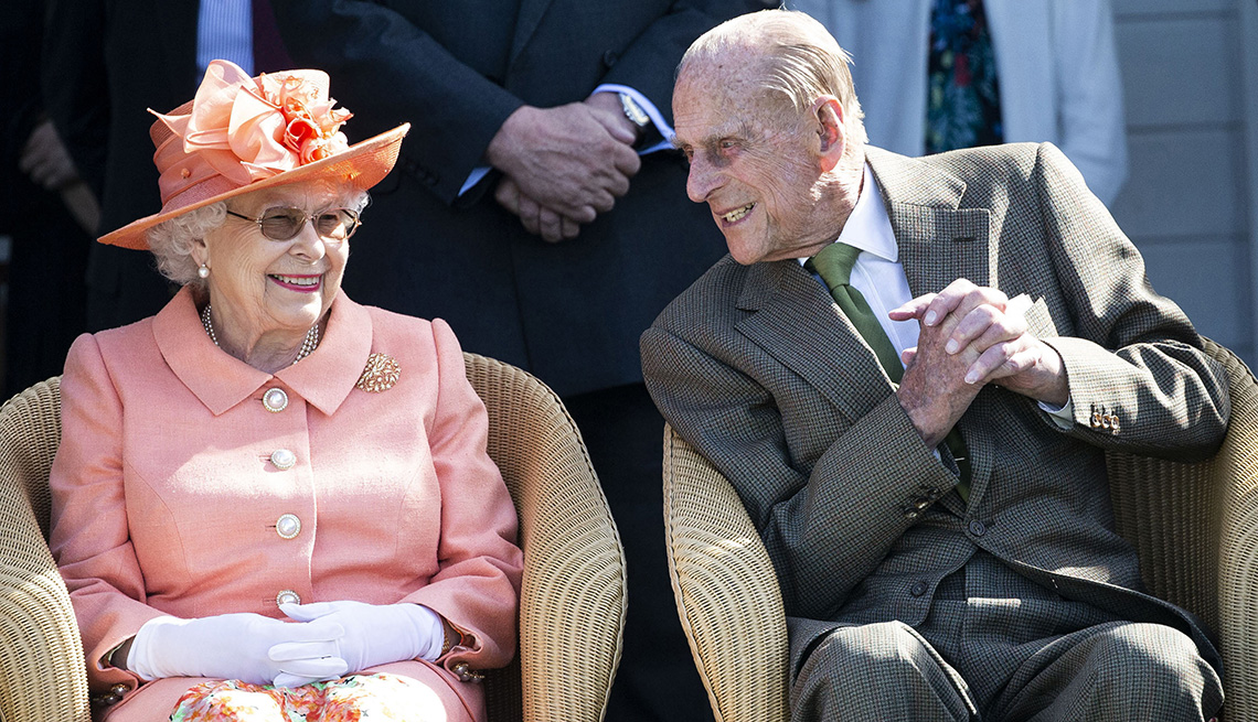 item 5 of Gallery image - Queen Elizabeth II and Prince Philip The Duke of Edinburgh at the Royal Windsor Cup Final at the Guards Polo Club and the British Driving Society Annual Show at Smith's Lawn in Windsor Great Park