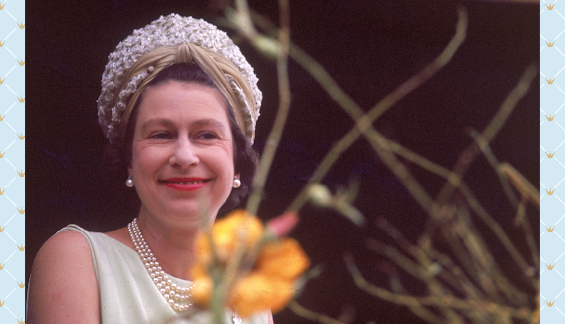 item 6 of Gallery image - Queen Elizabeth II smiles while in Grenada during her tour of the West Indies in 1966