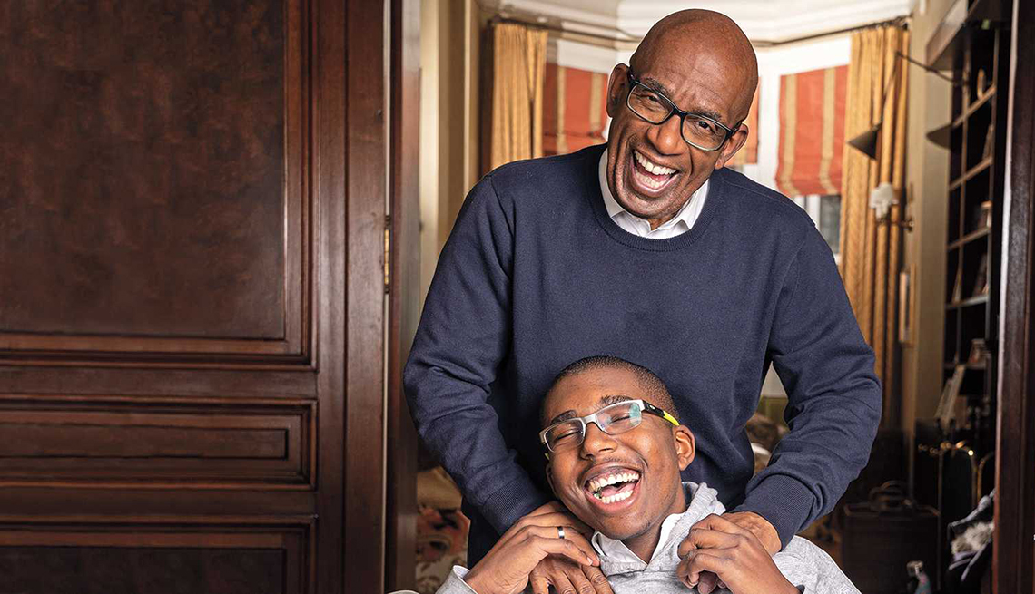 al roker with his son nick roker