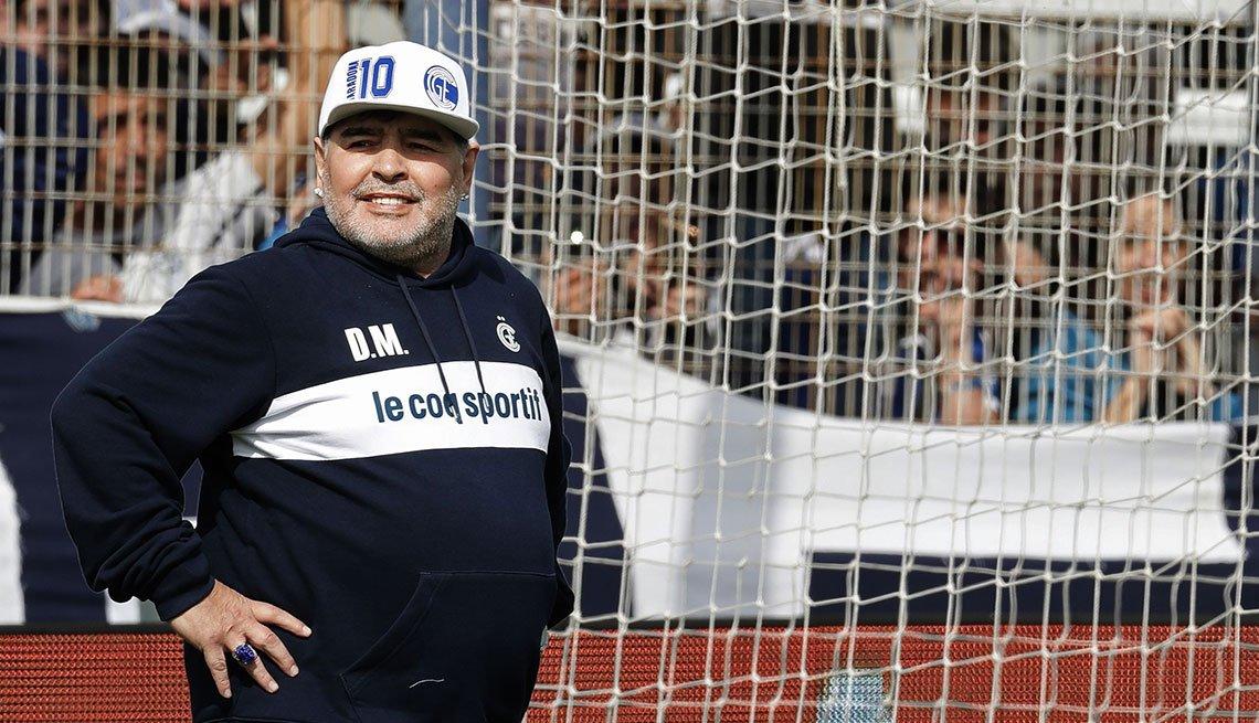 item 12, Gallery image. Diego Armando Maradona