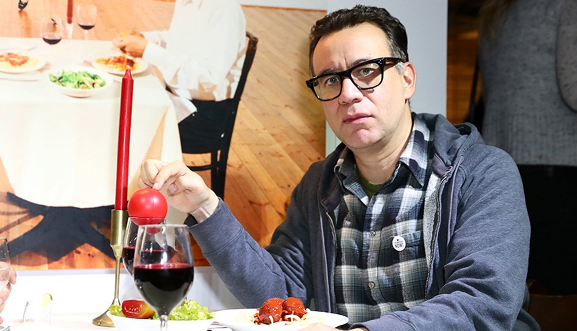 item 1 of Gallery image - Actor and musician Fred Armisen