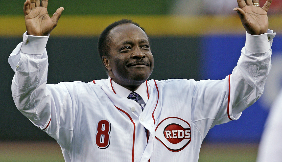 item 13 of Gallery image - Baseball Hall of Fame second baseman Joe Morgan