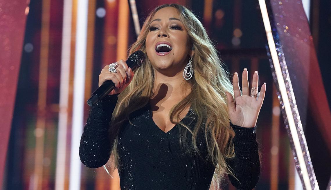 item 5 of Gallery image - La cantante Mariah Carey.