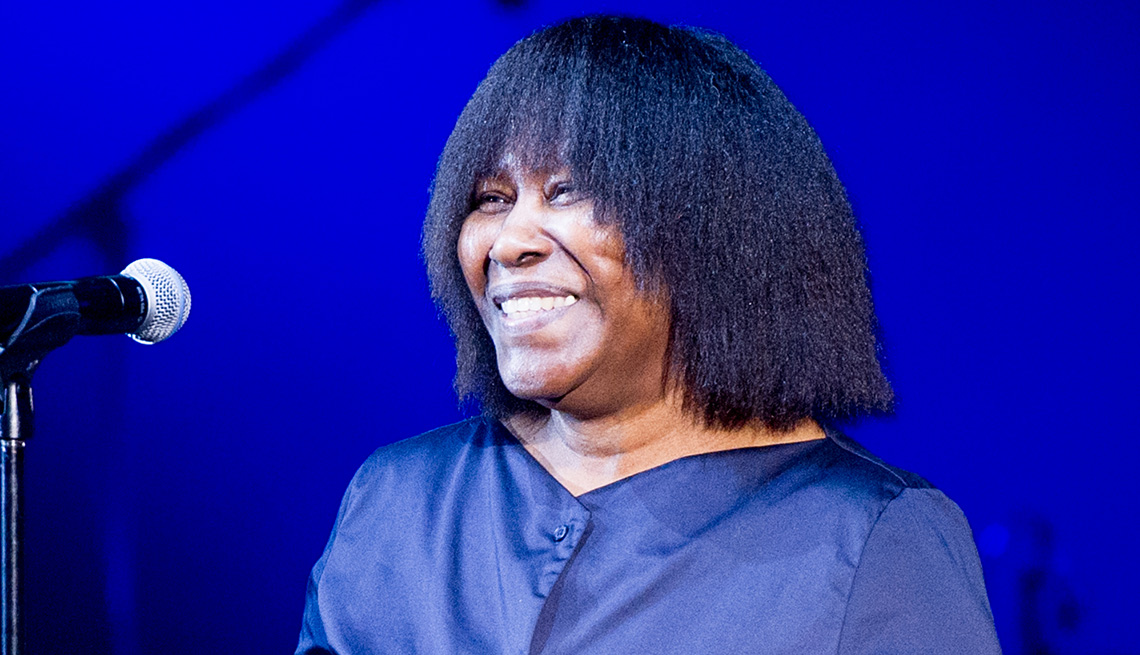 item 4 of Gallery image - Musician Joan Armatrading receives the Lifetime Achievement Award at the 5th Annual UK Americana Awards