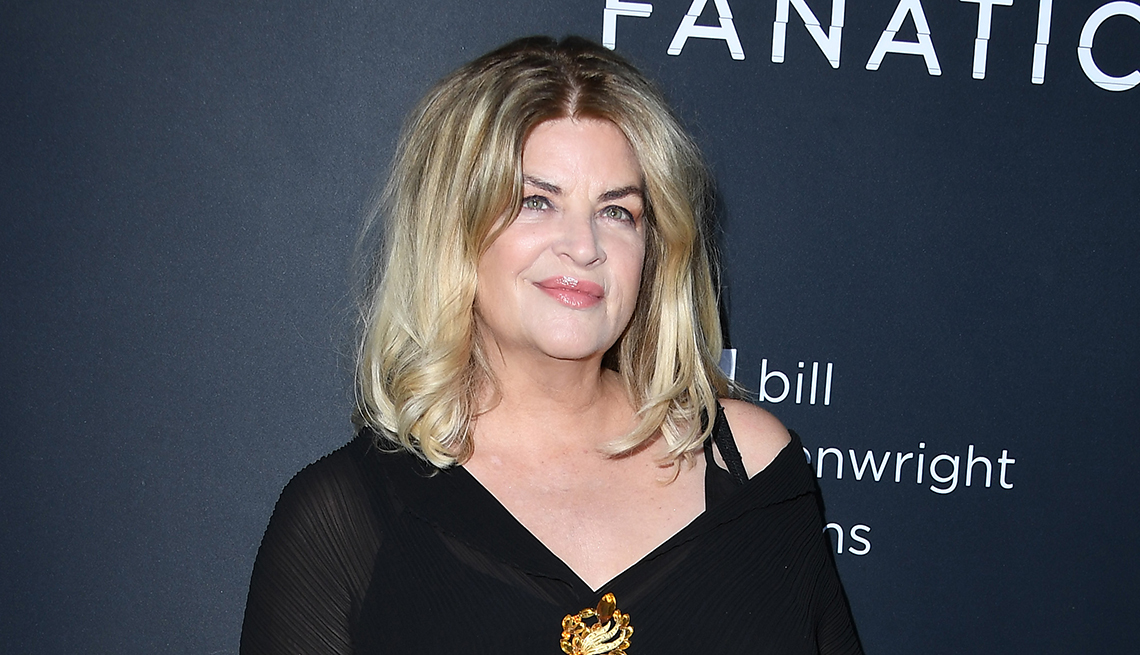 item 4 of Gallery image - actor kirstie alley attending a premiere