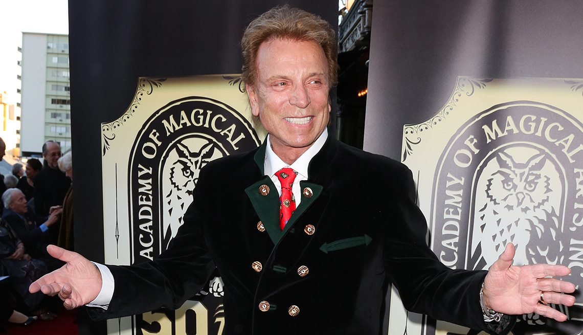 Entertainer Siegfried Fischbacher attends the Academy of Magical Arts 50th Anniversary Gala