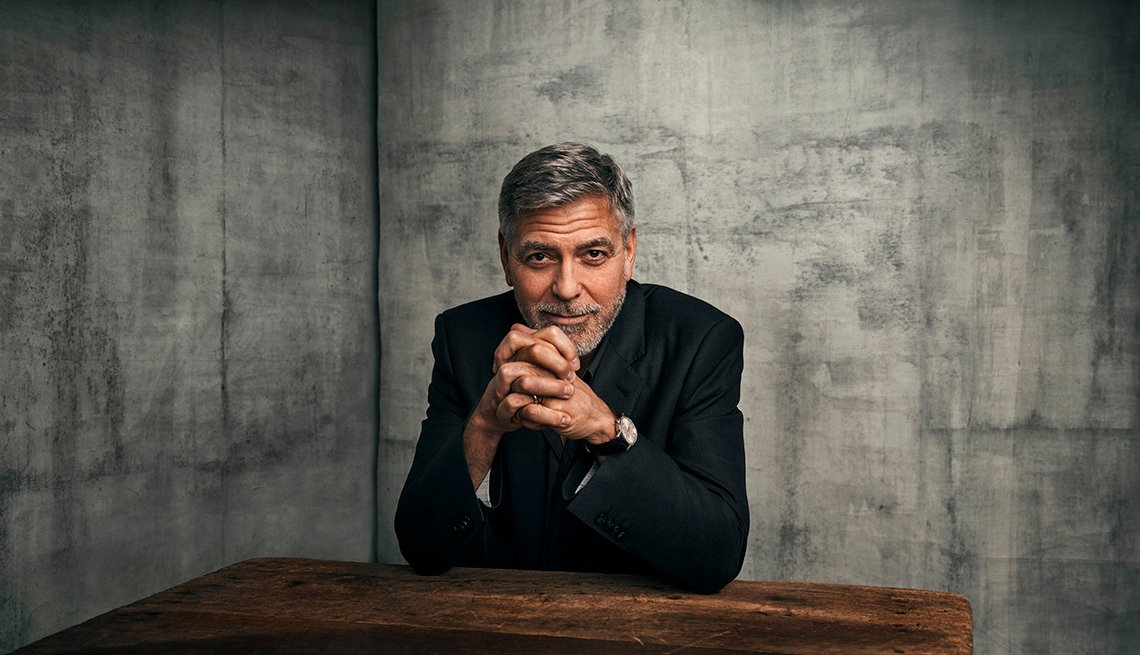 Actor and director George Clooney