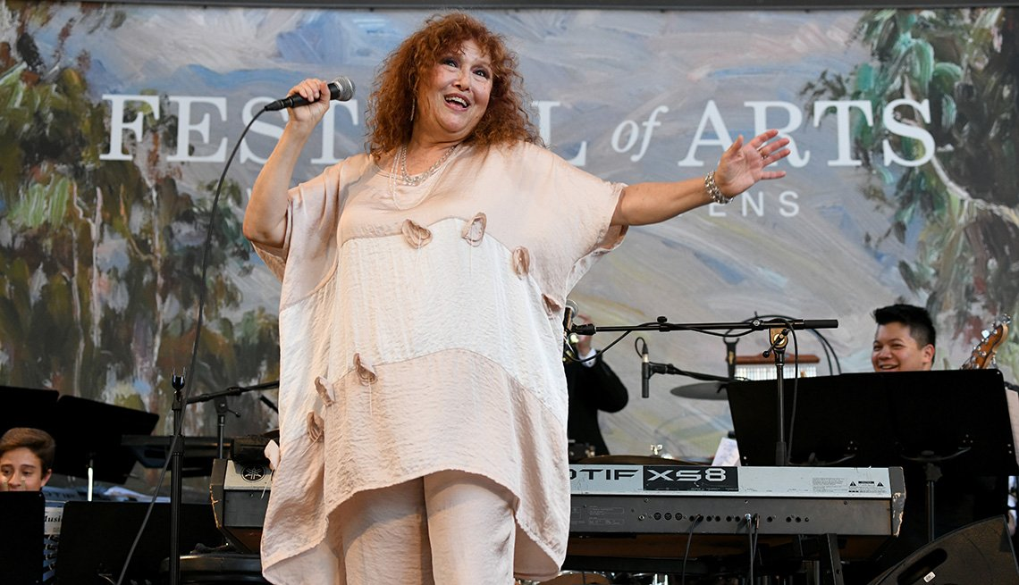 item 4 of Gallery image - Melissa Manchester performing onstage at the 2019 Festival of Arts Celebrity Benefit Event
