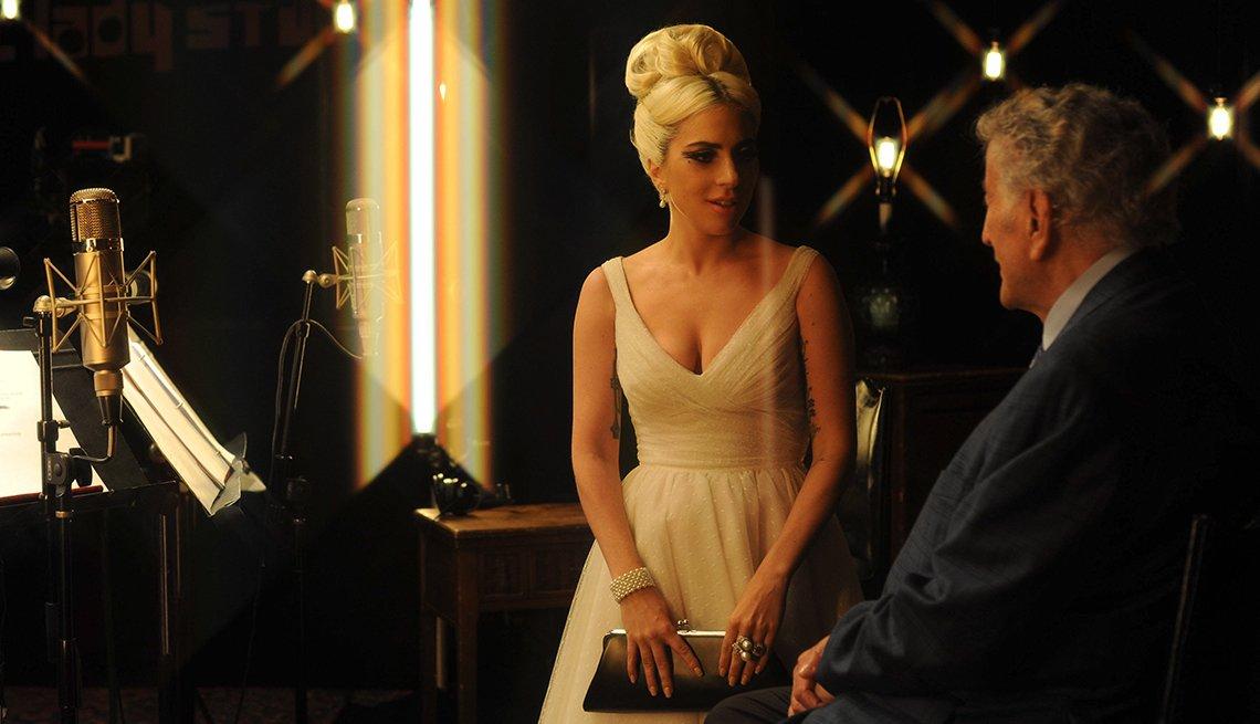 Tony Bennett  con Lady Gaga